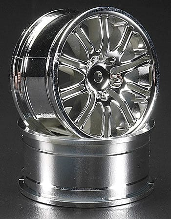 HPI 	3772 10-Spoke Sport Wheel 26mm Chrome (2)