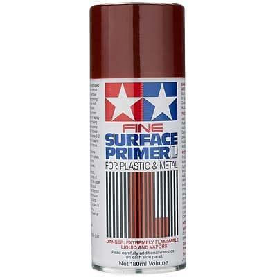 TAMIYA 87160 Fine Surface Primer L Oxide Red - RUI YONG HOBBY