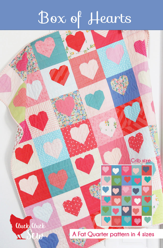 Box of Hearts #190, Paper Pattern