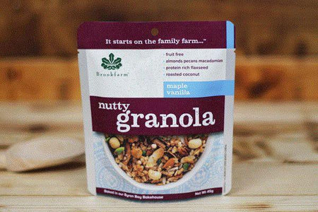 Brookfarm Nutty Granola 45g Pantry > Granola, Cereal, Oats & Bars