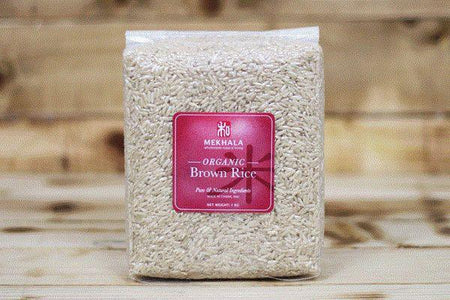 Mekhala Organic Brown Rice 1kg Pantry > Grains, Rice & Beans