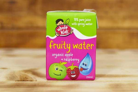 Organic Apple & Pear Fruity Water 200ml