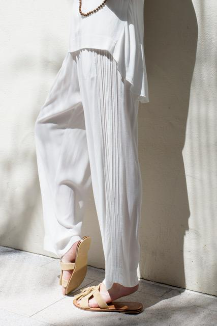 CHANDON PANTS - IVORY
