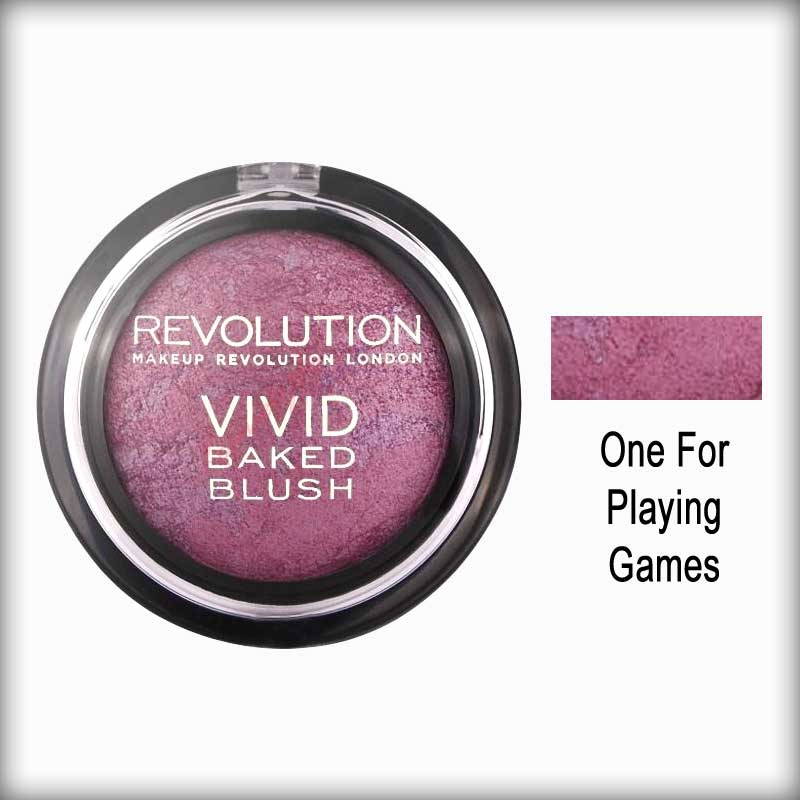 One for Playing Games Baked Blusher - Makeup Revolution