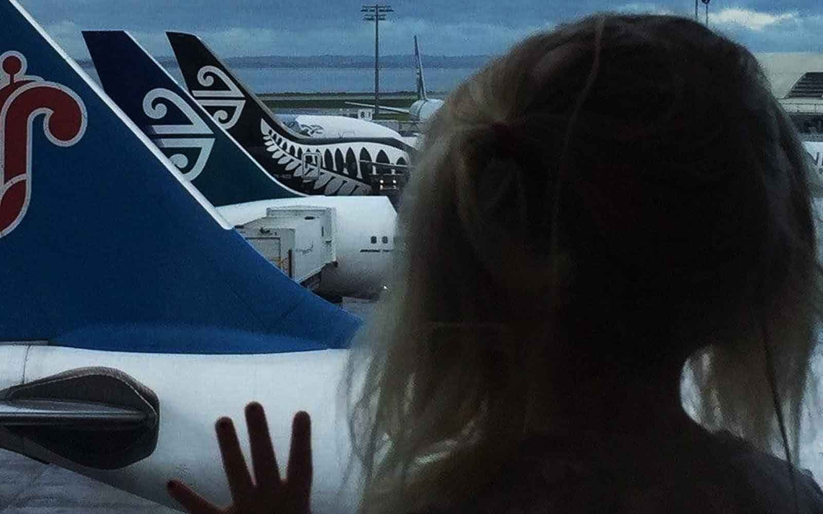 Surviving air travel with your little ones