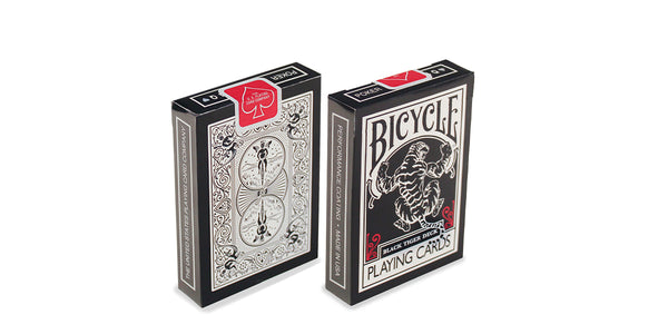 Bicycle Black Tiger Red