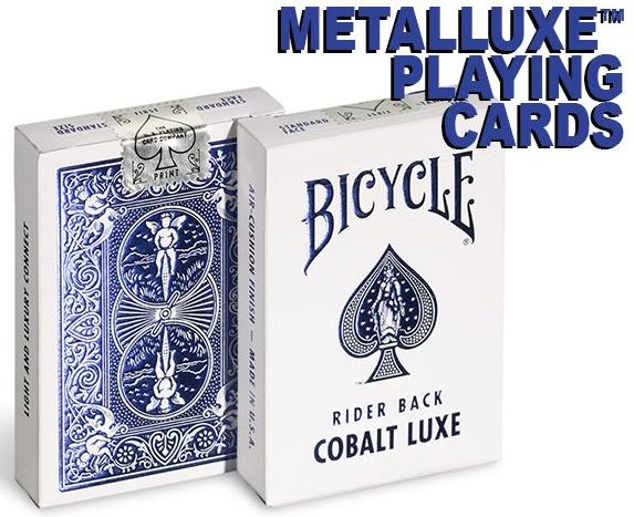 Bicycle Metalluxe Cobalt