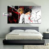 Death Note Canvas Print | L & Light Yagami