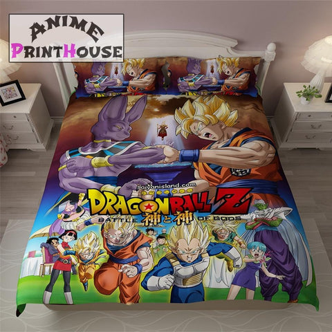 Dragon Ball Z Blanket, Bed Sheets & Covers