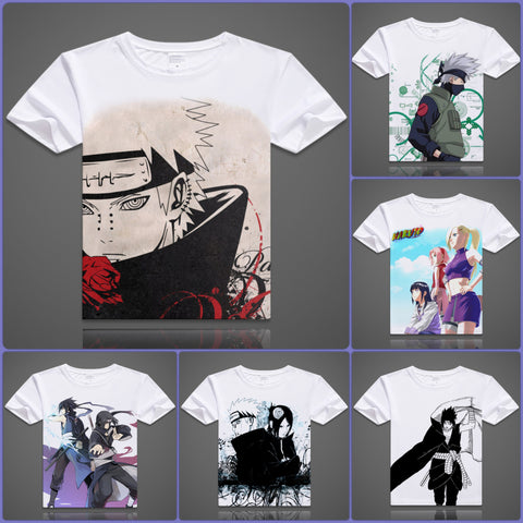 Naruto T-Shirts - 6 Designs - C - Anime Print House