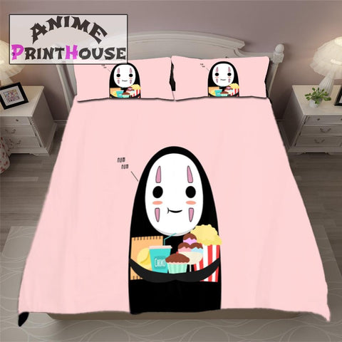 Spirited Away Blanket & Bedding featuring No Face