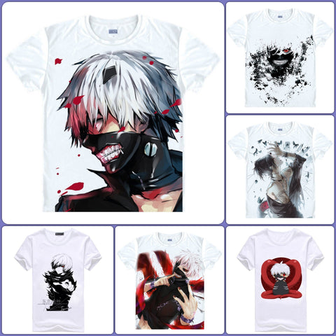 Tokyo Ghoul Anime T-Shirts - 11 designs - Anime Print House