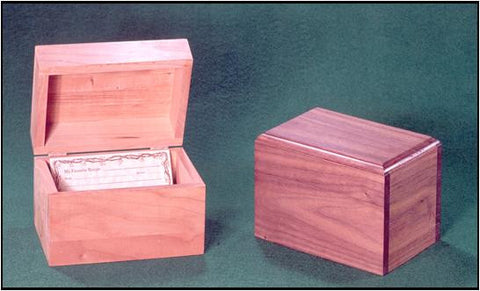 File & Recipe Boxes