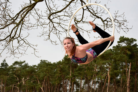 Aerial Hoop workshop 20 april 2019 - Flexmonkey Polewear