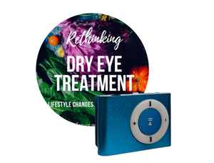 Rethinking Dry Eye Treatment Audio Book MP3 Player ONLY Books Eye Love, LLC