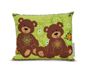 Teddy bear pillow - Lavender by the Bay