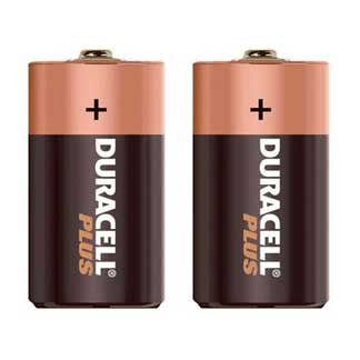 Duracell C  Pack of 2
