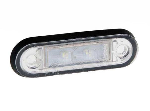 LED Marker Light - Flush Fit Available in RED, WHITE, AMBER, BLUE & GREEN