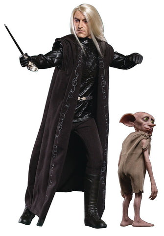 Harry Potter Goblet Fire Lucius Malfoy w/ Dobby Action Figure 1/6 Star Ace Toys