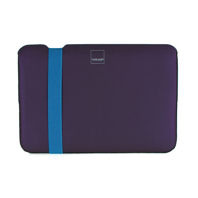 "Skinny Sleeve - 11"" ACME Made Blue Purple Front"