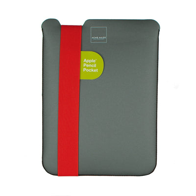 "Skinny Sleeve Tablet - 9.7"" ACME Made Grey Orange Front"