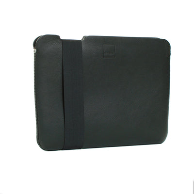 Skinny Sleeve - Medium ACME Made Front Angle Black Black Leather