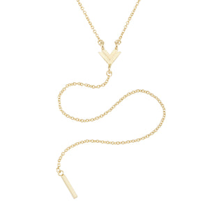 Mason Mini V Y Necklace