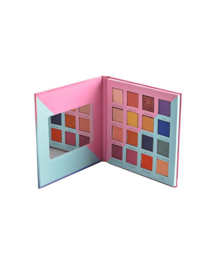 Prolux Just Once - 16 Shade Eyeshadow Palette