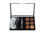JEWELRY BOX COSMETIC S.he Deluxe Eyebrow Kit (For All Eyes)