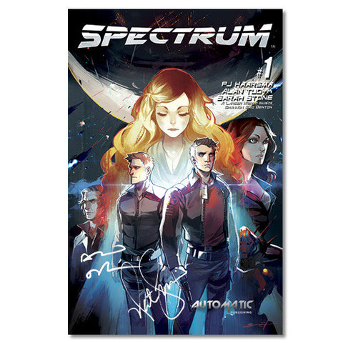 Spectrum Comic Issue #1 Signed by Nathan Fillion and Alan Tudyk