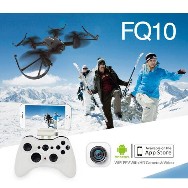 Vendetta FQ777 FQ10 4CH 6-Axis Gyro Quadcopter HD Video 360 Flipz