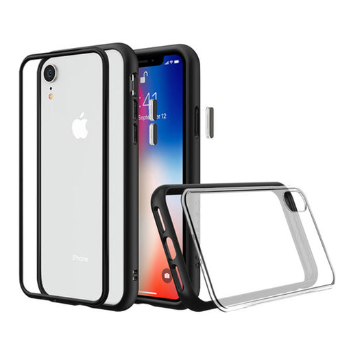 Mod NX Case for Apple iPhone XR (with Rim, Button, Frame, Clear Blk Plate) - ICONS