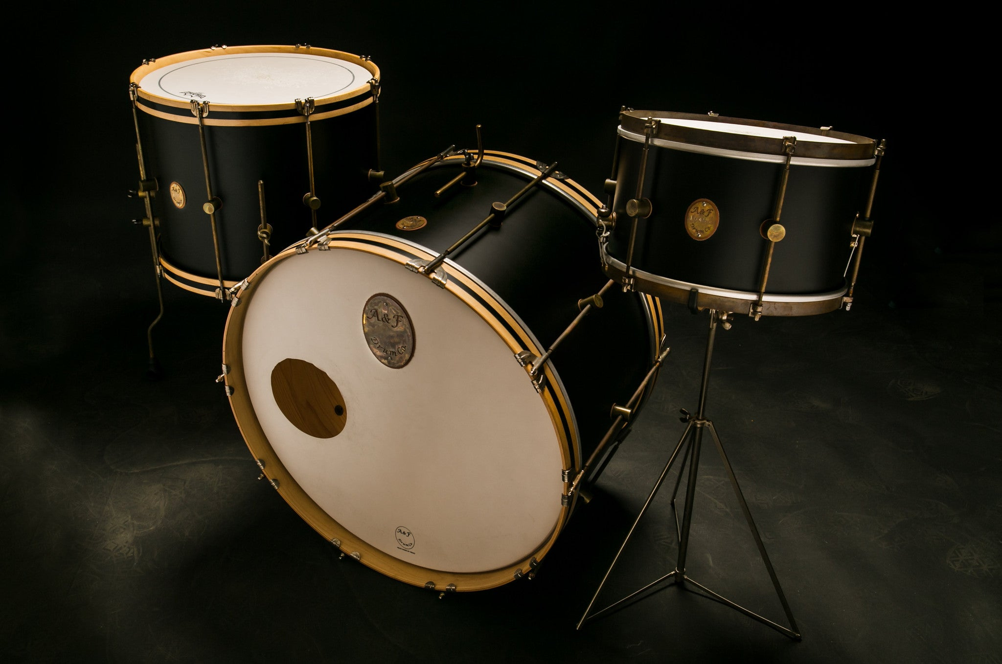 Black Club Bass Drum