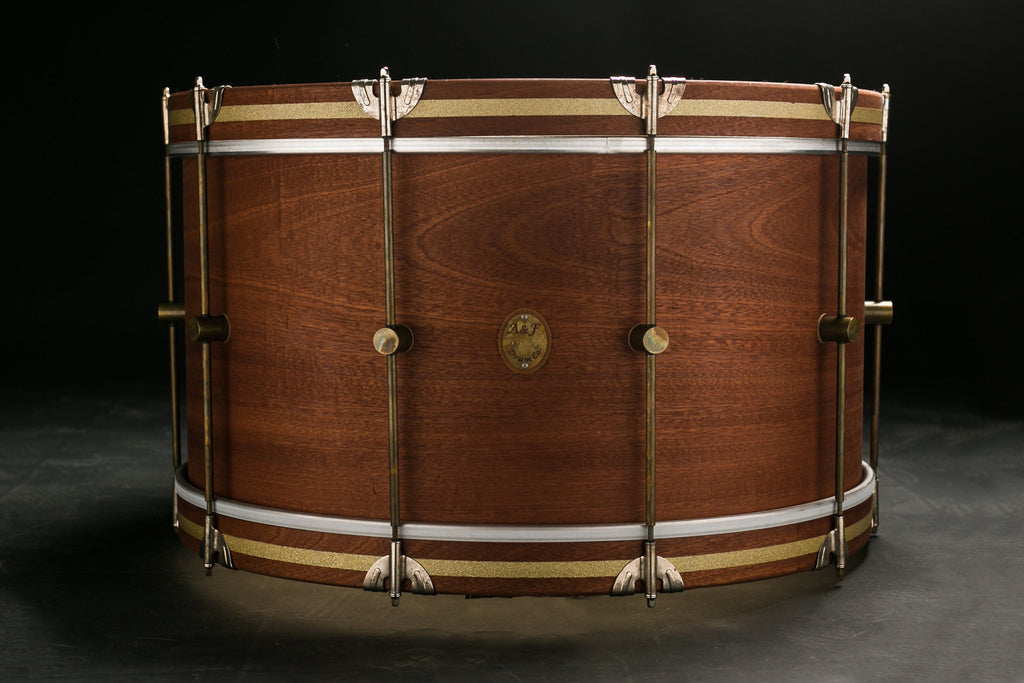 Mahogany Club Bass Drum - A&F Drum Co