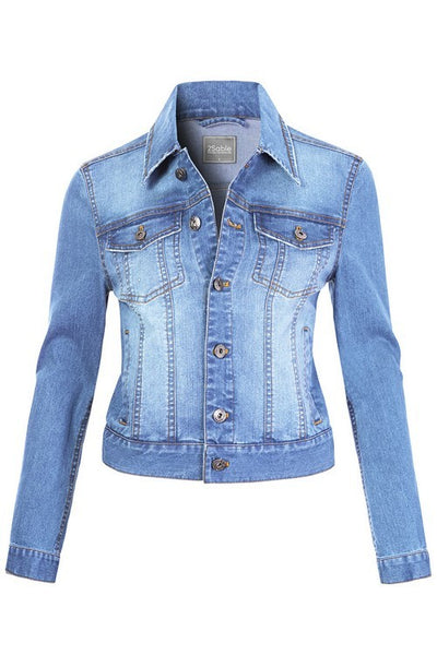 Comeback Classic Light Denim Jacket