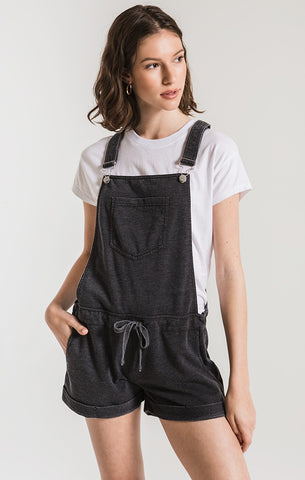 The Black Short Overalls by Z Supply