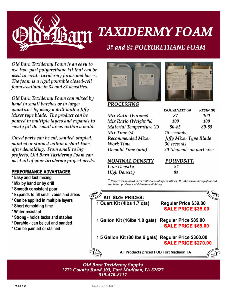 Old Barn Tannery Price List 2020 - Page 9