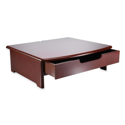 Rolodex Monitor Riser ; (030402824362); Color:Mahogany