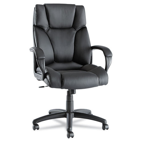 Alera Fraze Executive High-Back Swivel/Tilt Leather Chair ALEFZ41LS10B,  (UPC:042167385910)