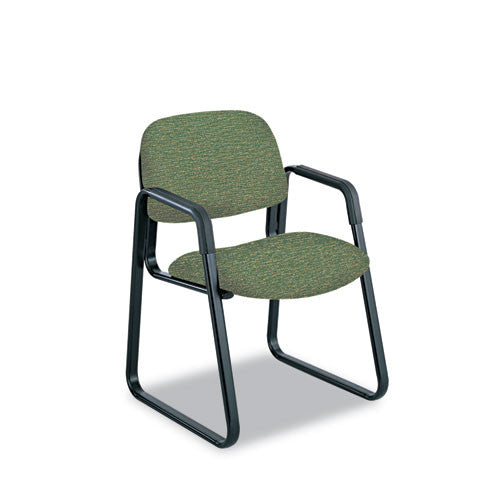 Safco Cava Urth Series Sled Base Guest Chair SAF7047GN,  (UPC:073555704778)