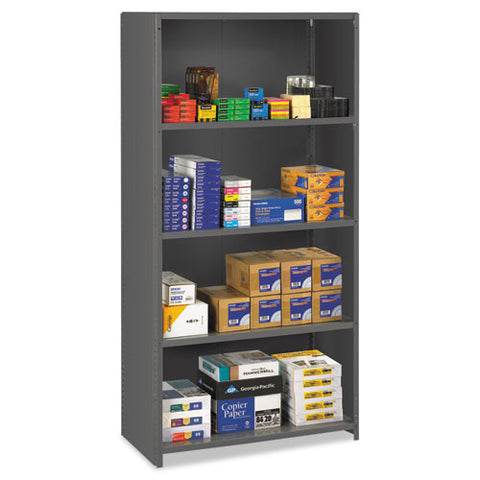 Tennsco ESP Closed Commercial Shelving TNNESPC1836MGY, Gray (UPC:044767130327)