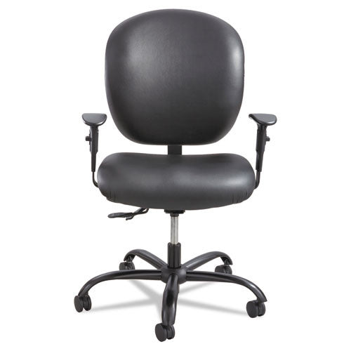 Safco Alday 24/7 Task Chair SAF3391BV, Black (UPC:073555339109)