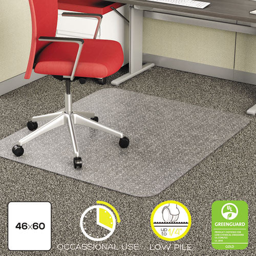 Deflecto EconoMat Chair Mat DEFCM11442F, Clear (UPC:079916062150)