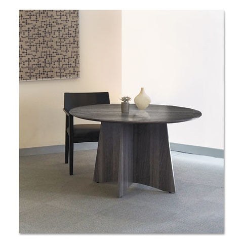 Mayline Medina Series Laminate Conference Table MLNMNCR48LGS,  (UPC:760771390877)