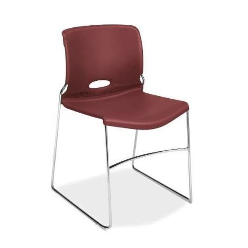 HON Olson High-Density Stacking Chair HON4041MB, Red (UPC:089192054466)