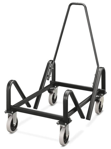 HON Olson Cart for Stacking Chair HON4043T, Black (UPC:089191508823)