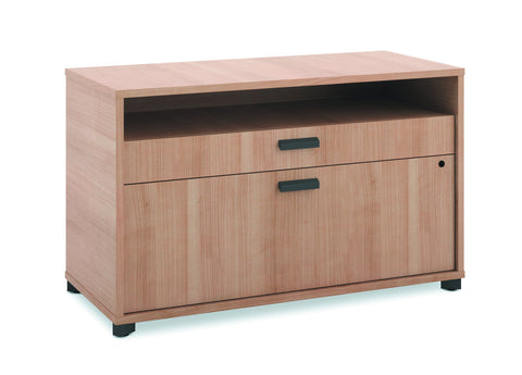 "HON Manage File Center | 1 Shelf / 2 Drawers | 36""W 
