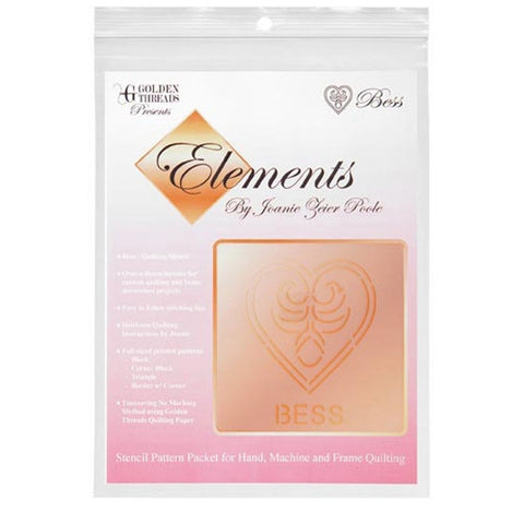 Bess Element Stencil Packet By Golden Threads