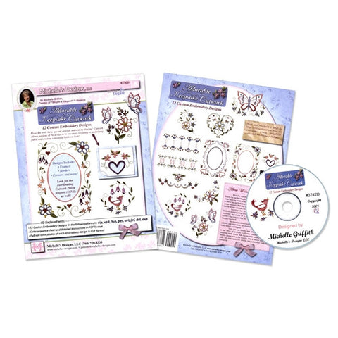 Adorable Keepsake Cutwork CD by Michelle's Designs