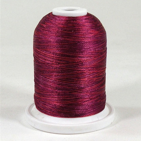 YLI Variations in Burgundy, 1000yd Spool
